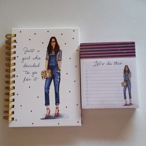 Rongrong Journal and Notepad Set